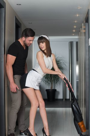 Kinky Housemaid Carol Vega Takes a Rock hard Ravaging