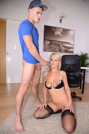 Mummy Secretary Luci Angel Penetrates Firm